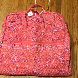 Vera Bradley garment bag new with tags